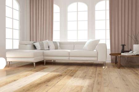 Modern interior design. 3D illustration Banque d'images - 150886419
