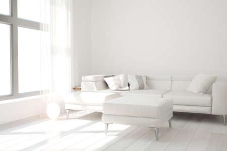 Modern interior design. 3D illustration Banque d'images - 150886434