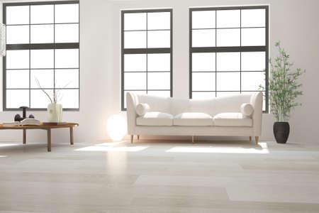 Modern interior design. 3D illustration Banque d'images - 150886463