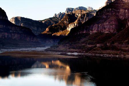 hebei: China, Hebei, Taihang Mountains,