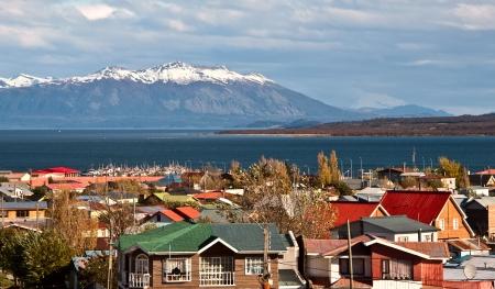 strait of magellan: Strait Of Magellan, Puerto Natales, Patagonia, Chile