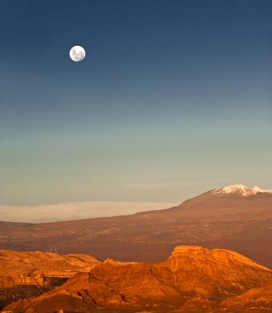 declared: Valle de la Luna Valle della Luna si trova a 13 km 8 km a ovest di San Pedro de Atacama, Cile, nella Cordillera de la Sal, nel deserto di Atacama del Cile, una parte della Reserva Nacional los Flamencos ed � stata dichiarata Nature Sanctuary nel 1982