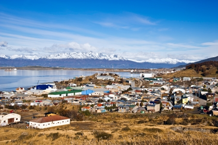 tierra: Ushuaia is the capital of the Argentine province of Tierra del Fuego