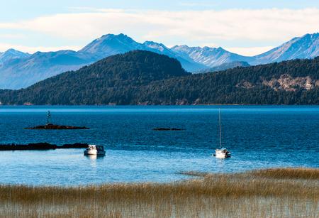 nahuel huapi: Nahuel Huapi lake, Patagonia Argentina, near Bariloche Stock Photo