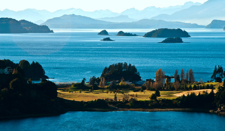 nahuel huapi: Nahuel Huapi lake, Patagonia Argentina, from Panoramic Point near Bariloche