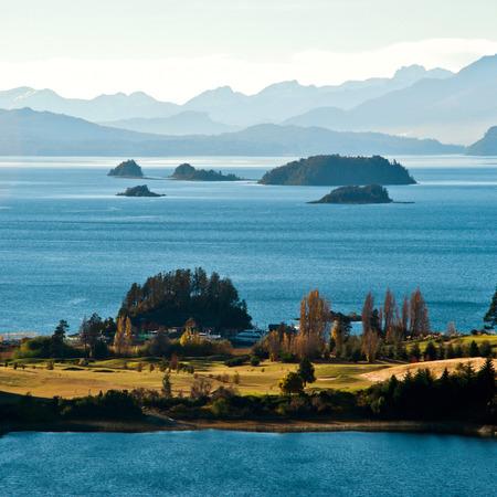 lake nahuel huapi: Nahuel Huapi lake, Patagonia Argentina, from Panoramic Point near Bariloche
