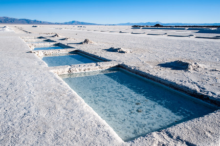 Salinas Grandes on Argentina Andes is a salt desert in the Jujuy Province. More significantly, Bolivas Salar de Uyuni is also located in the same region.