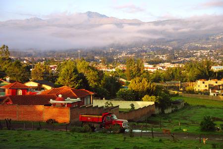 san rafael: Town in the Andes, San Rafael, Ecuador, South America