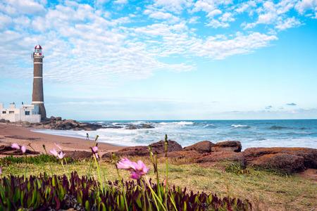 uruguay: Lighthouse in Jose Ignacio near Punta del Este, Uruguay