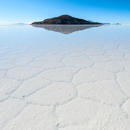 lithium: Salt lake - Salar de Uyuni in Bolivia