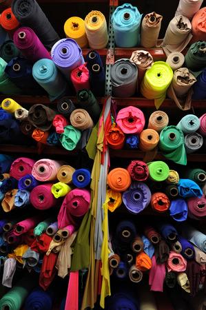 Fabric textile rolls