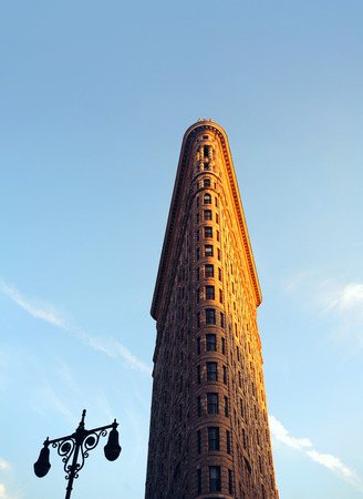 Flatiron - Old Manhattan office building - The Flatiron Building, or Fuller Building, easily recognizable symbol of New York City, is one of the first skyscrapers ever built. It was designed by Chicago