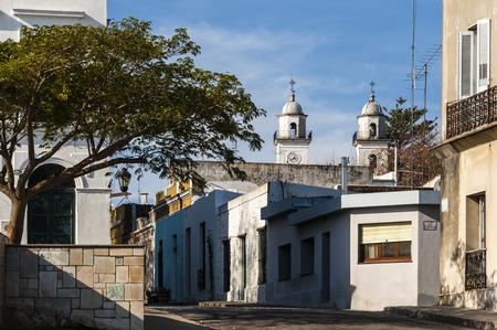 colonia del sacramento: Historic neighborhood in Colonia del Sacramento, Unesco World Heritage town, Uruguay