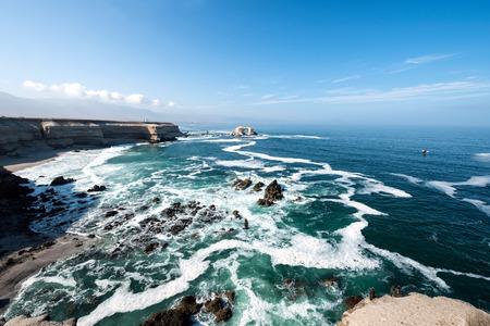 portada: Portada (Arch) Rock Formation, Chilean Coastline, La Portada National Reserve, Antofagasta, Chile
