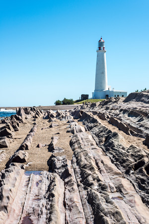 declared: La Paloma lighthouse Uruguay, 1874. Active. The area was declared a national monument in 1976