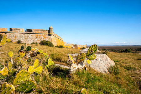 warm climate: Santa Teresa fort. Rocha. Uruguay. Fort was started to built by Portuguese on 1762, and completed, years later by Spanish