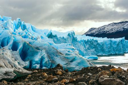 perito moreno: Early morning on the glacier Perito Moreno, Argentina