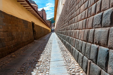 south  america: Ciudad de Cuzco en Perú, América del Sur Foto de archivo