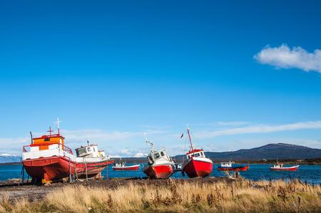 puerto natales: Strait Of Magellan, Puerto Natales, Patagonia, Chile