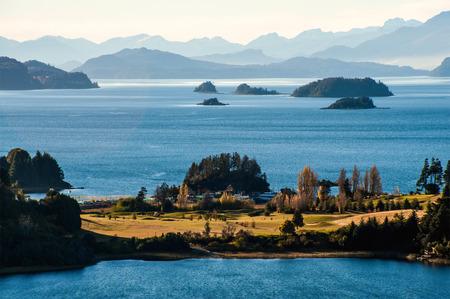 lake nahuel huapi: Nahuel Huapi lake, Patagonia Argentina, near Bariloche Stock Photo