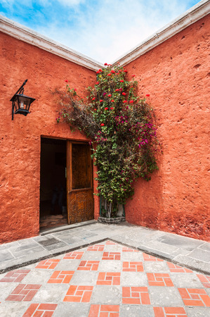 renovated: Mansion del Fundador, a renovated centuries old Spanish Colonial mansion, Arequipa, Peru