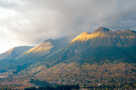 inactive: Imbabura inactive stratovolcano in northern Ecuador