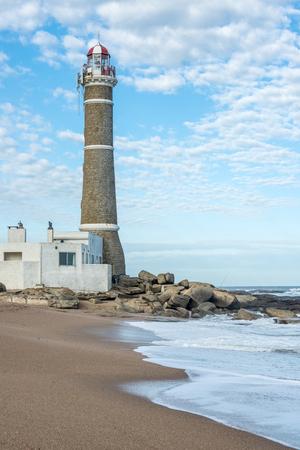 ignacio: Lighthouse in Jose Ignacio near Punta del Este, Atlantic Coast, Uruguay
