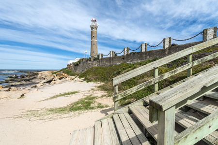 ignacio: Lighthouse in Jose Ignacio near Punta del Este, Uruguay