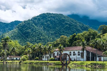 Old countryside farm (fazenda) in state Rio de Janeiro, Brazil