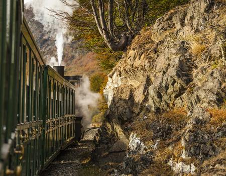 tierra del fuego: End of World Train (Tren fin del Mundo), Tierra del Fuego National Park, Patagonia, Argentina