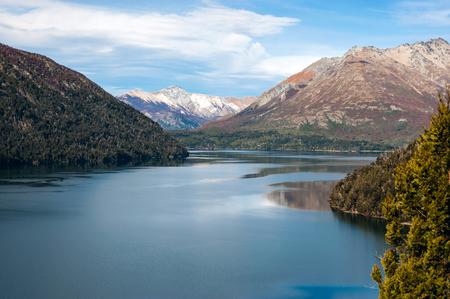 lake nahuel huapi: Autumn in Bariloche, Patagonia, Argentina