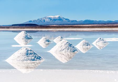 salar: Salt lake - Salar de Uyuni in Bolivia