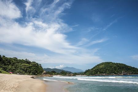 Beach in Trinidade - Paraty, Rio de Janeiro state, Brazil