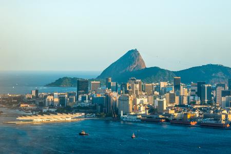 Rio de Janeiro, Sugarloaf Mountain, Brazil Standard-Bild