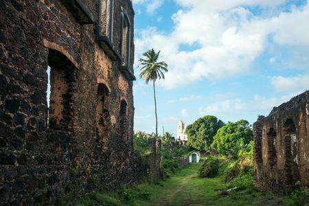 Ruins of Historic city of Alcantara near Sao Luis, Maranhao State, Brazil