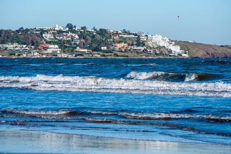 Portezuelo and Salanas Beach near Punta del Este, Atlantic Coast, Uruguay Standard-Bild
