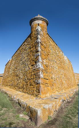 San Miguael fort. Rocha, near the brazilian border, Uruguay