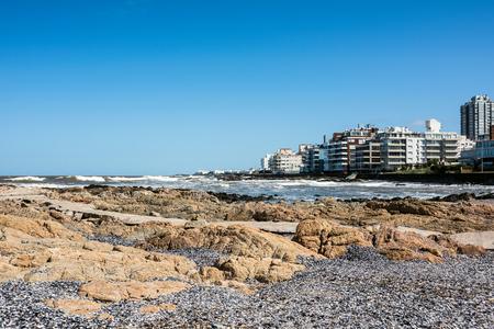 Peninsula area of Punta del Este, Maldonado, Uruguay Standard-Bild