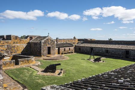 San Miguael fort in Rocha province, near the brazilian border, Uruguay Standard-Bild