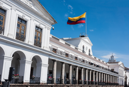 Carondelet Palace (Spanish: Palacio de Carondelet) is the seat of government of the Republic of Ecuador, located in Quito in the Independence Square (Plaza Grande)  Editorial