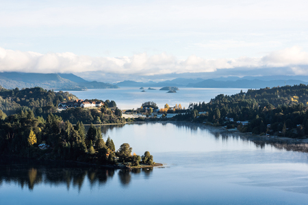 Nahuel Huapi lake, Patagonia Argentina, near Bariloche Stockfoto