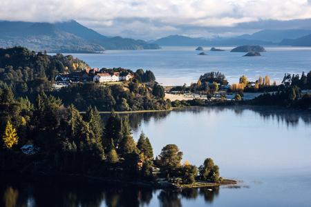 Nahuel Huapi lake, Patagonia Argentina, near Bariloche Standard-Bild