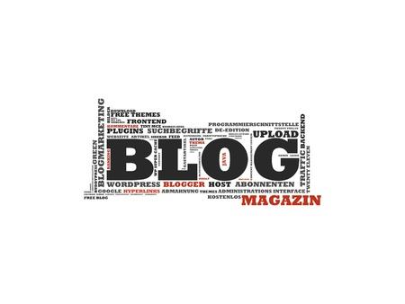 Blog Stock Photo - 19305620