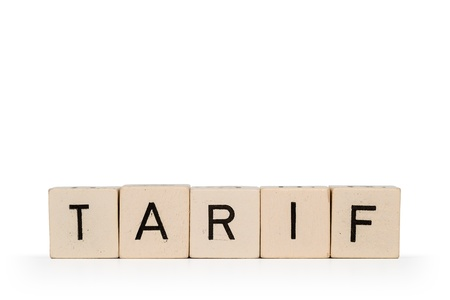 electricity tariff: Tariff