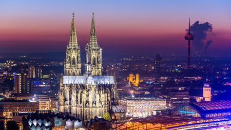 cologne: Cologne Cathedral Stock Photo