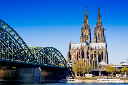 Cologne Cathedral 스톡 콘텐츠