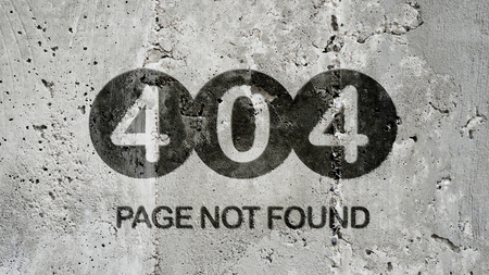 Page Not Found - 404 Error