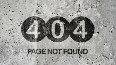 Page Not Found - 404 Error