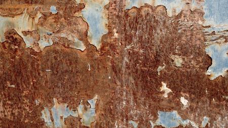Rostiges Metall als Hintergrund, Rost Textur Stock Photo
