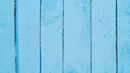 Blue wood planks background Stock Photo